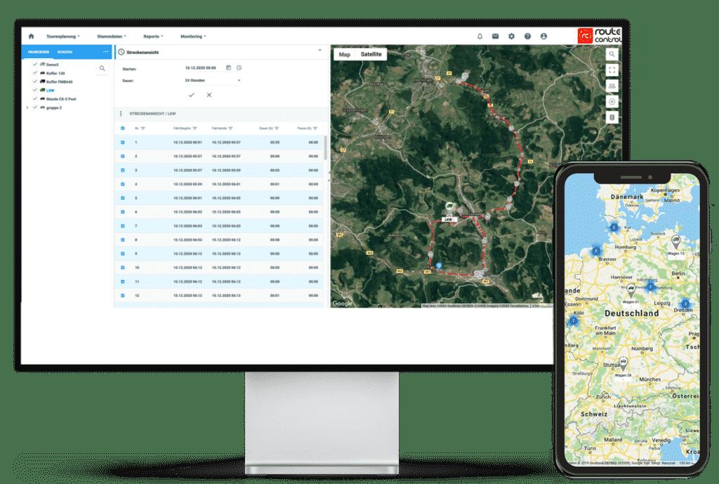 Automatische Routenplanung und Optimierung
